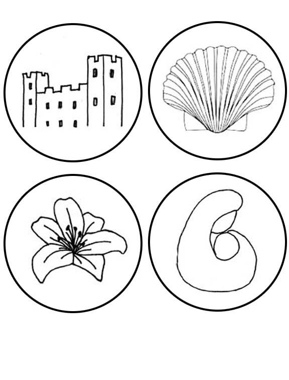 jesse tree symbols coloring pages - photo#18