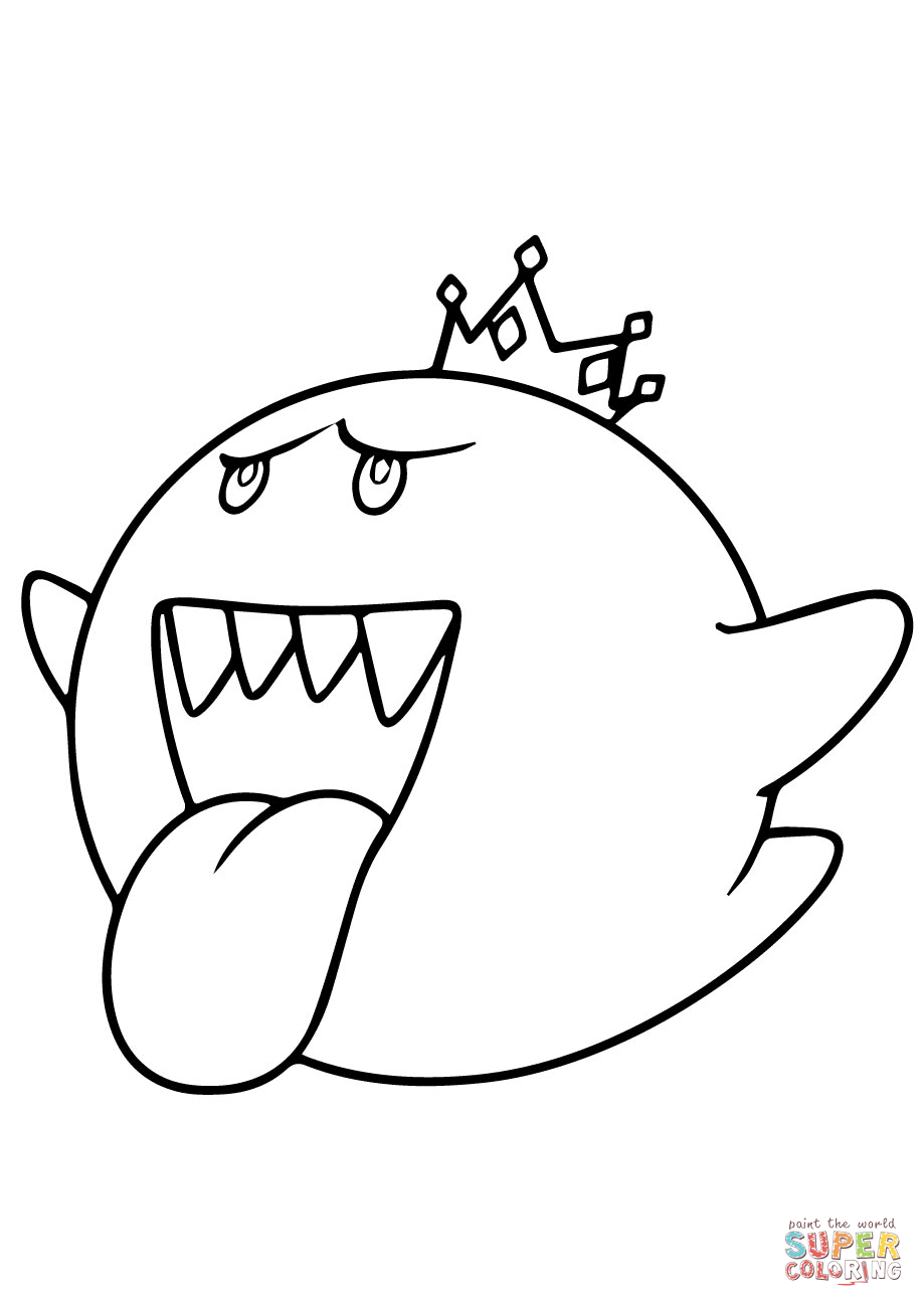 mario kart coloring pages free - photo#36