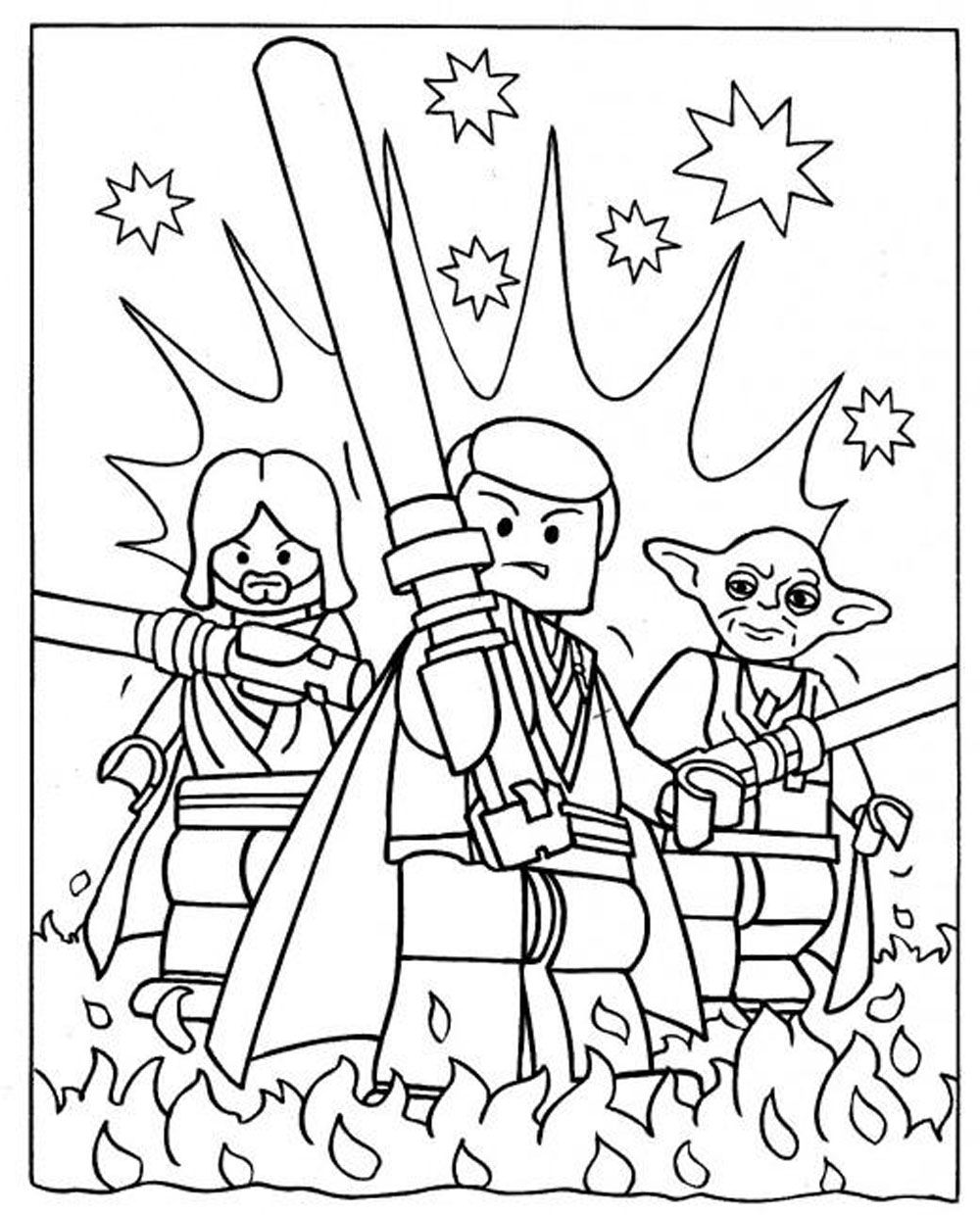 - Lego Star Wars Printable - Coloring Pages For Kids And For Adults