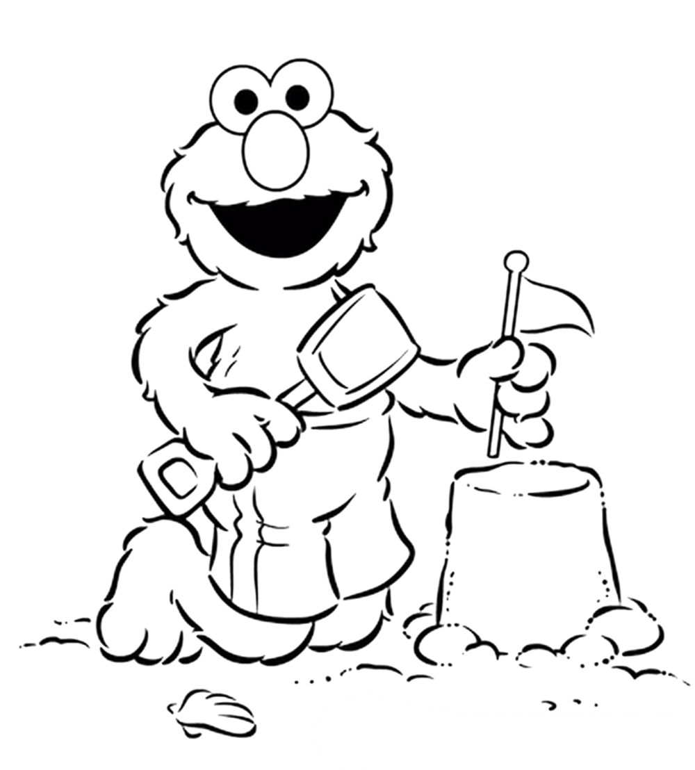 baby elmo printable coloring pages - photo#4
