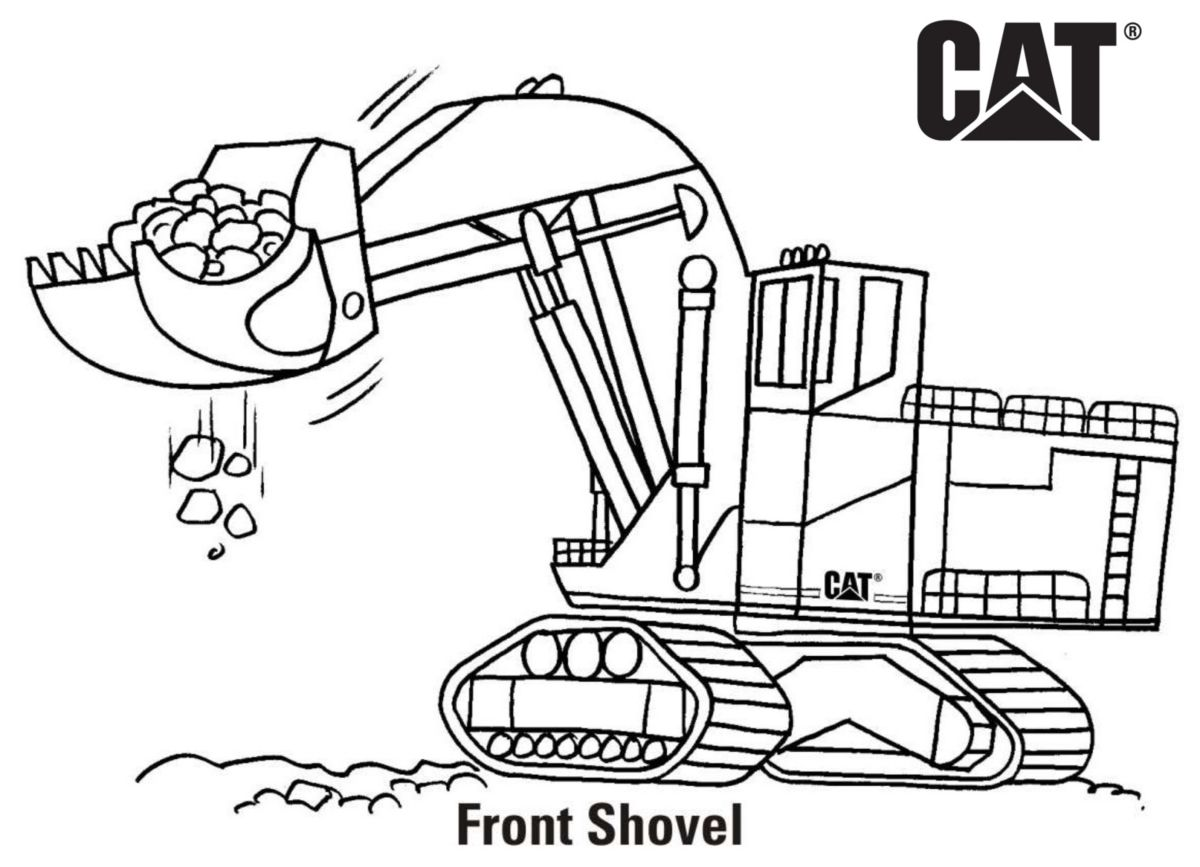 Construction Site Coloring Pages Coloring Home