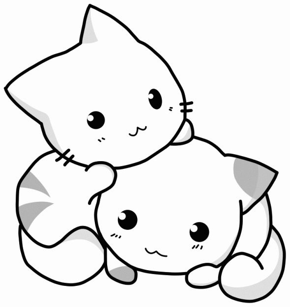 - Cute Kittens Coloring Pages - Coloring Home