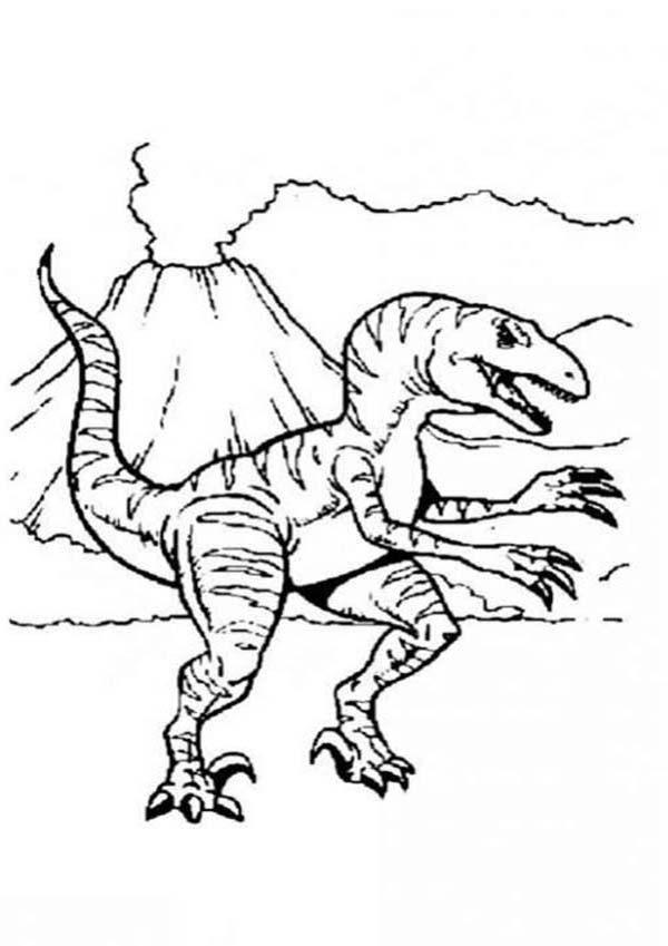 Volcano Coloring Pages For Kids - Coloring Home