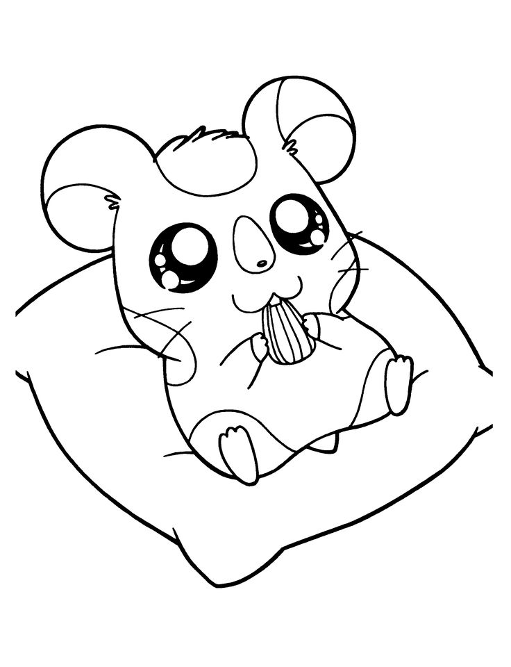 1000+ images about Hamtaro Coloring Pages on Pinterest | Plays ...