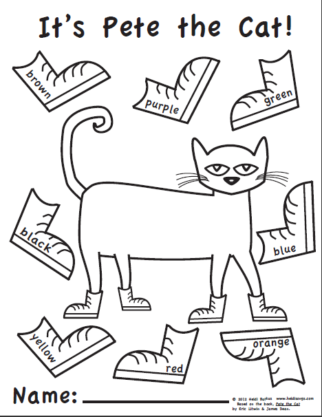 1000 Images About Book Pete The Cat On Pinterest Activities