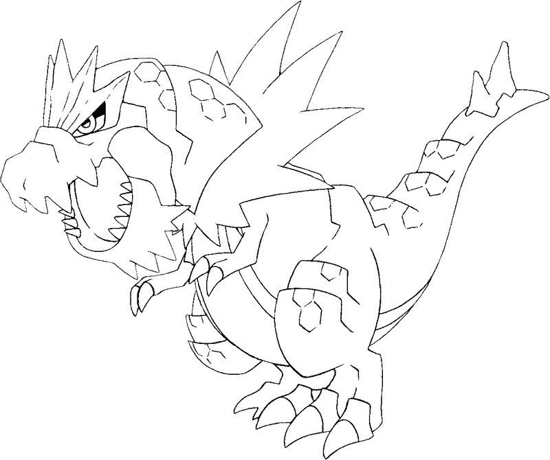 Coloring Pages Pokemon X Y Drawing - Coloring Home