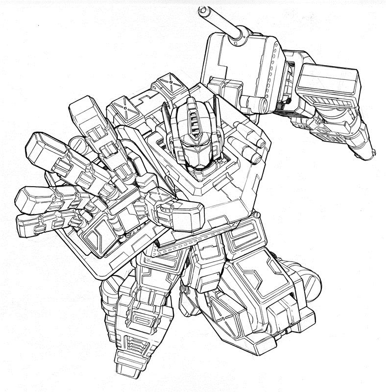 coloring pages optimus prime - photo#20
