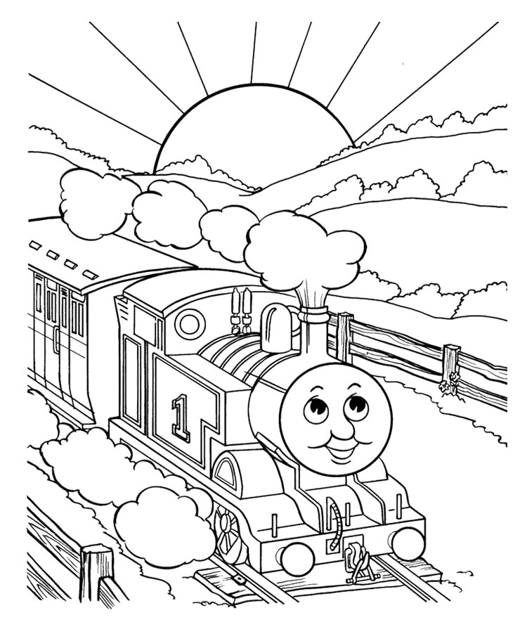 thomas friends coloring pages free - photo#4