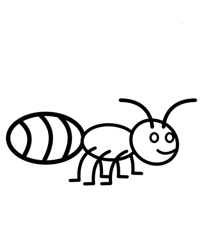 Ant Color Page Az Coloring Pages Coloring Pages Ant