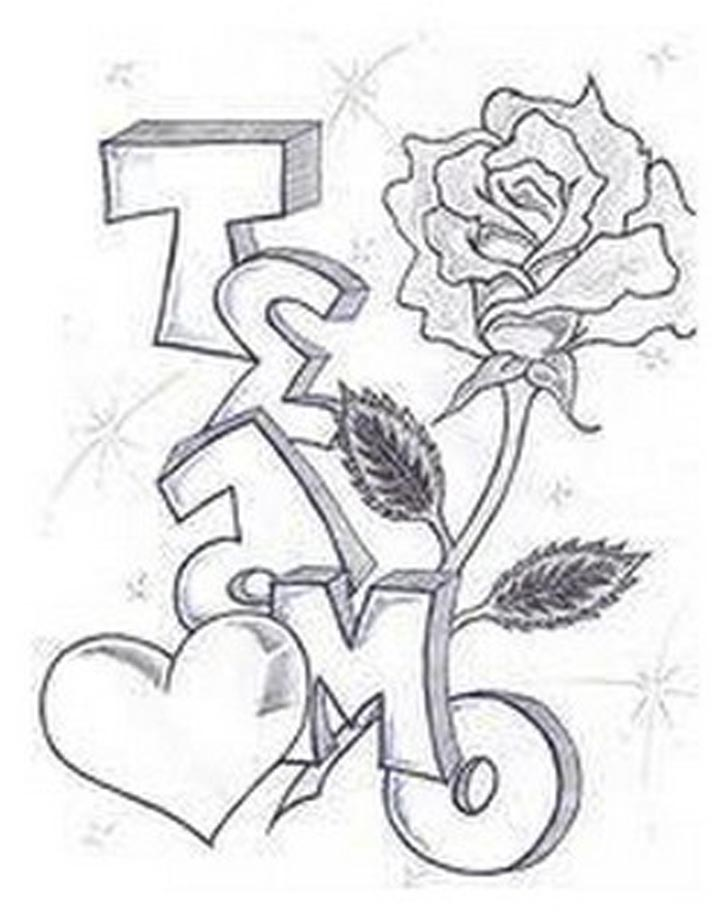 Te Amo Coloring Pages Coloring Home