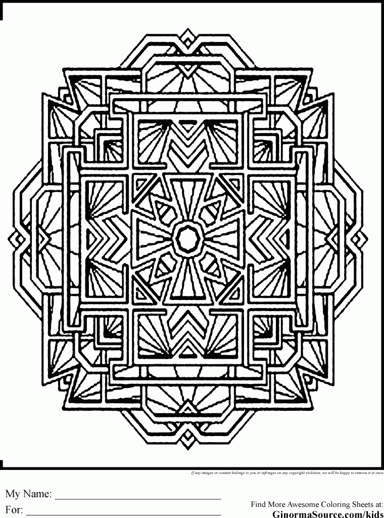 advanced holiday coloring pages - photo#28