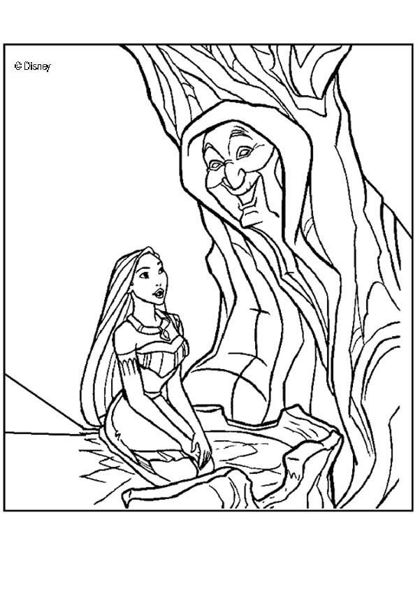pocahontas Colouring Pages (page 3)