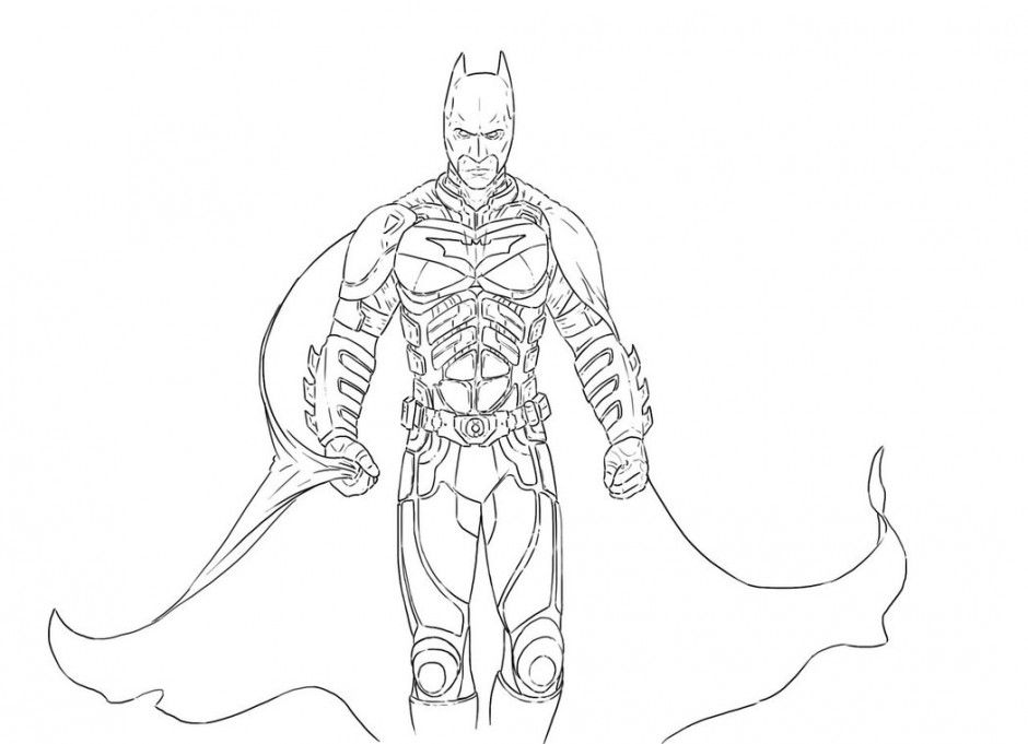 The Dark Knight Coloring Pages