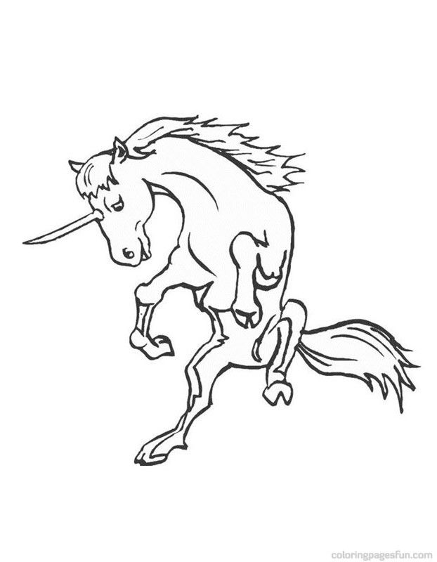 Baby Unicorn Coloring Pages Coloring Home