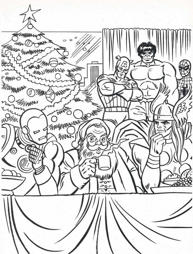 Twas The Night Before Christmas Coloring Pages Coloring Home