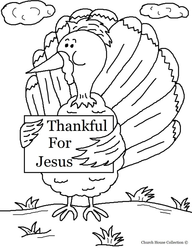 i am thankful coloring pages - photo #14