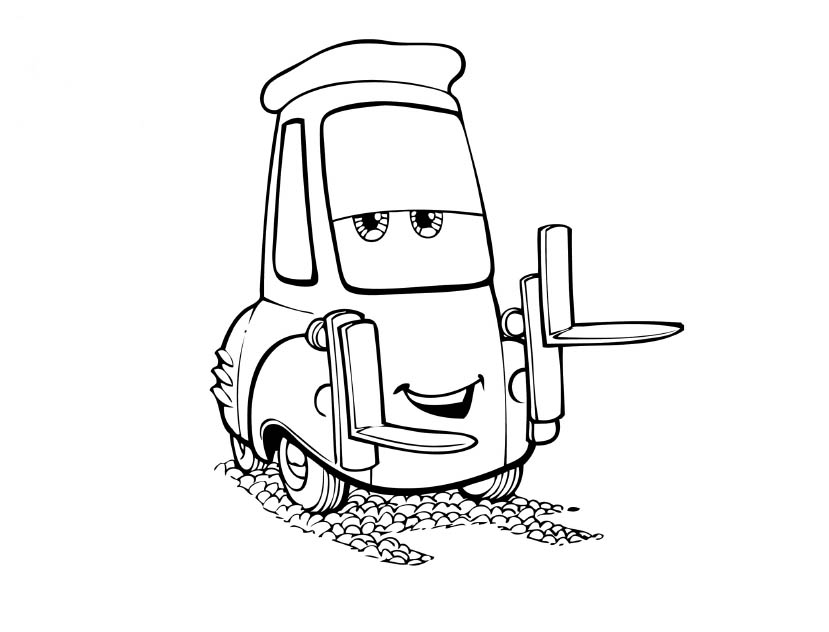 Disney Cars Coloring Pages Printable - Coloring Home