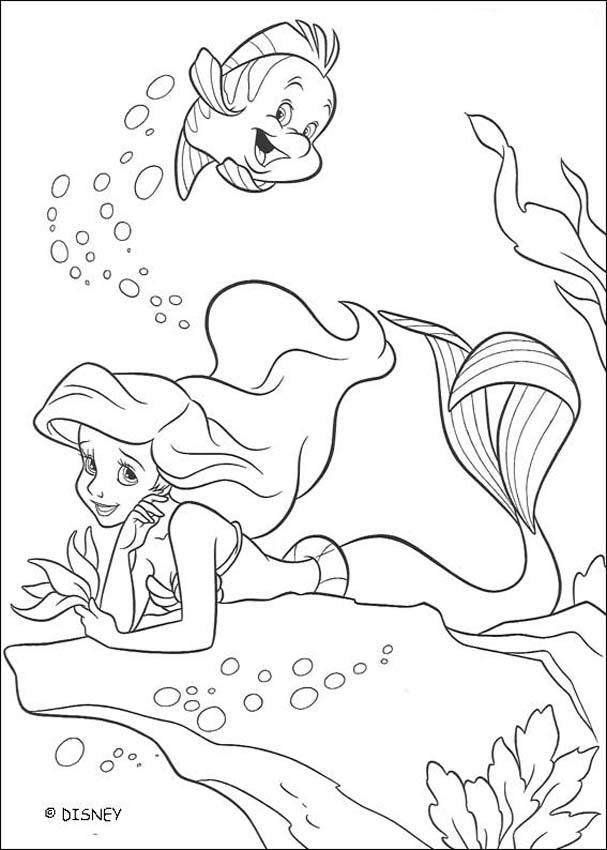 Disney princess : Coloring pages, Free Kids Games (page 4)