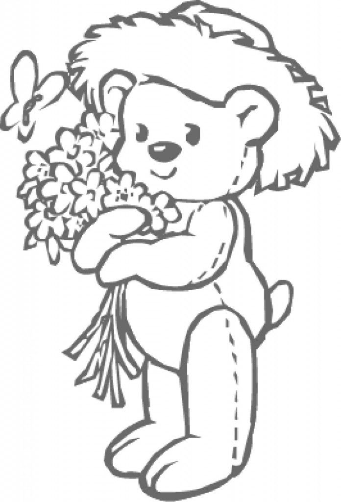 coloring pages or little bears - photo#12