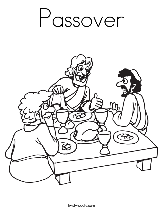passover coloring pages for kids - photo#7