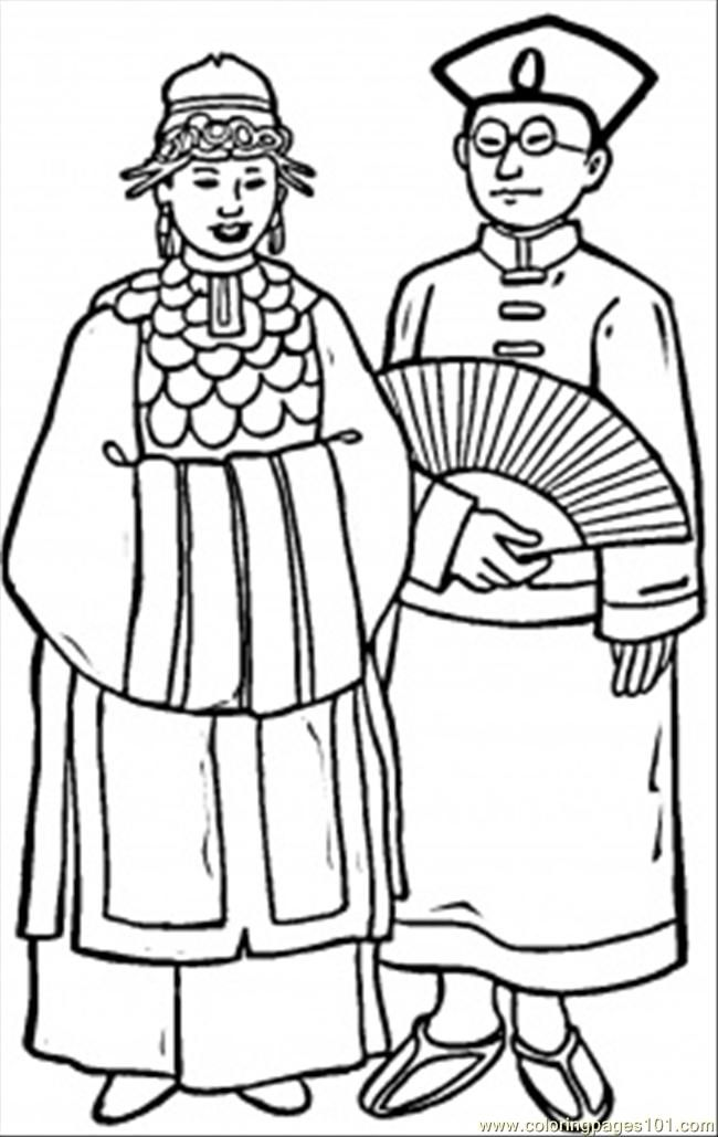 free china coloring pages - photo#21