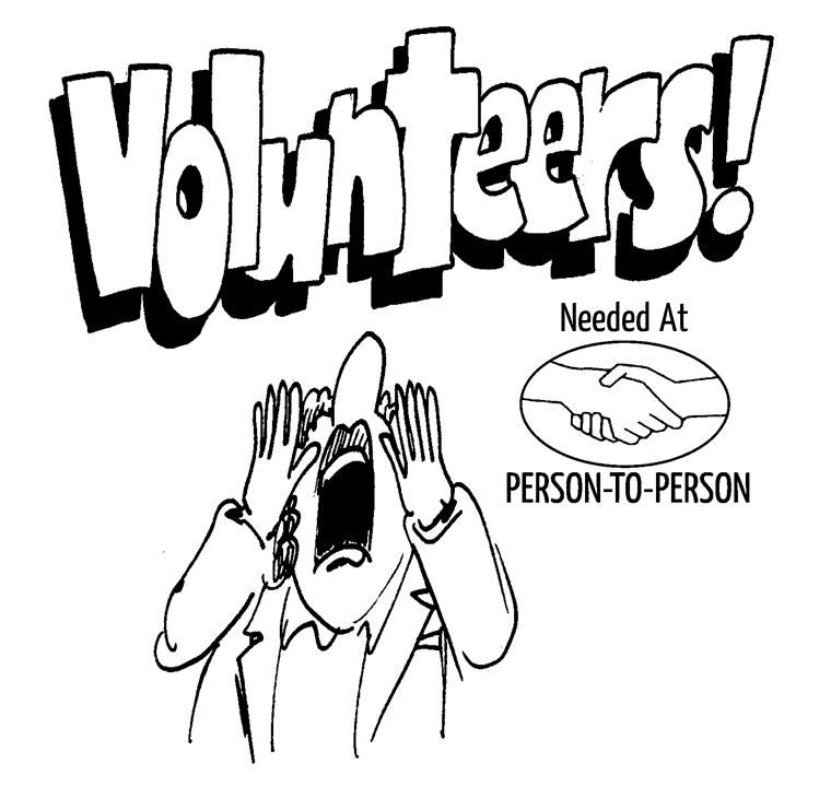 Volunteer Recognition Coloring Coloring Pages
