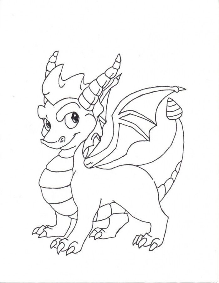 spyro and cynder coloring pages - photo#20