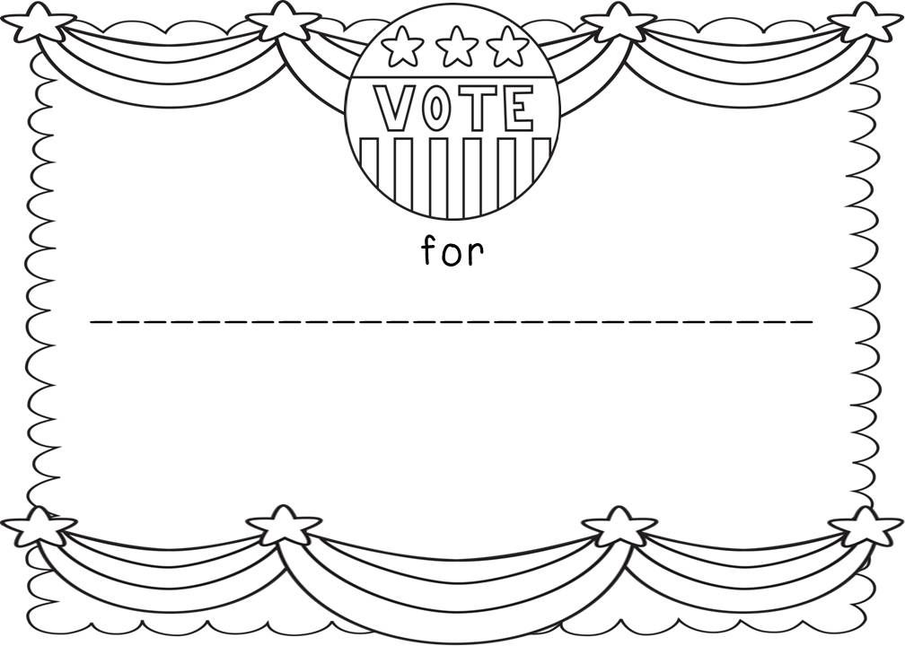 free election day coloring pages - printable wanted posters for kids coloring home