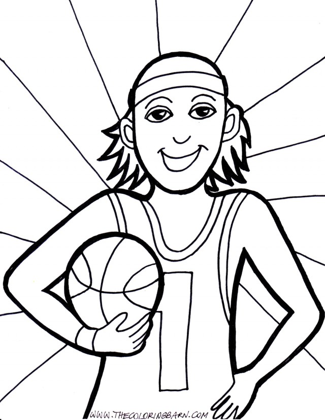 lebron james coloring page - photo #19