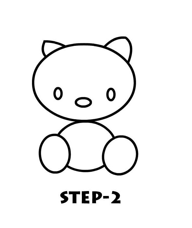 Easy To Draw Hello Kitty