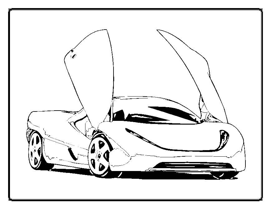 Car Design Coloring Pages : Cool designs coloring pages home