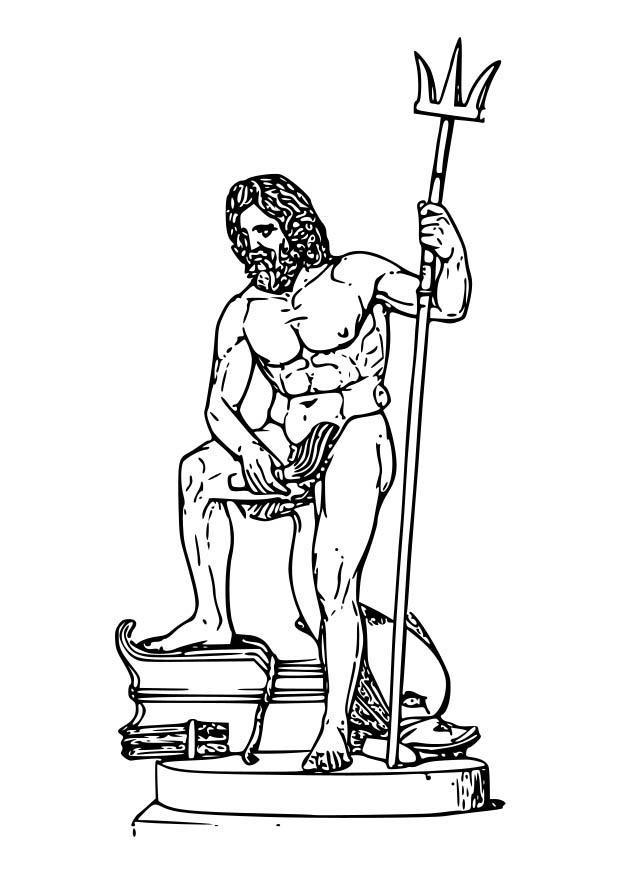 Greek Mythology Coloring Page - Free Greek Mythology Coloring ... | 875x620