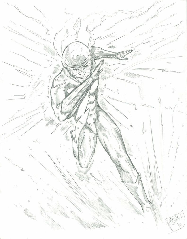 The Flash Running Coloring Pages Coloring Home