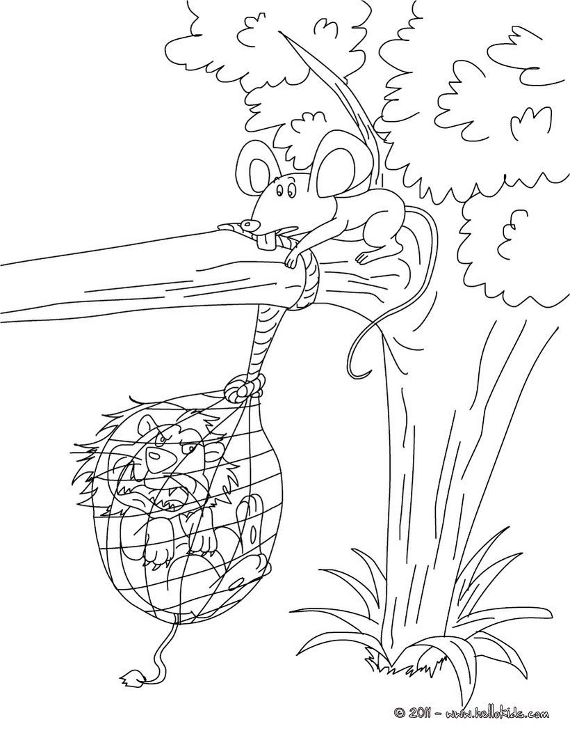 grasshopper and ant coloring pages - photo#25