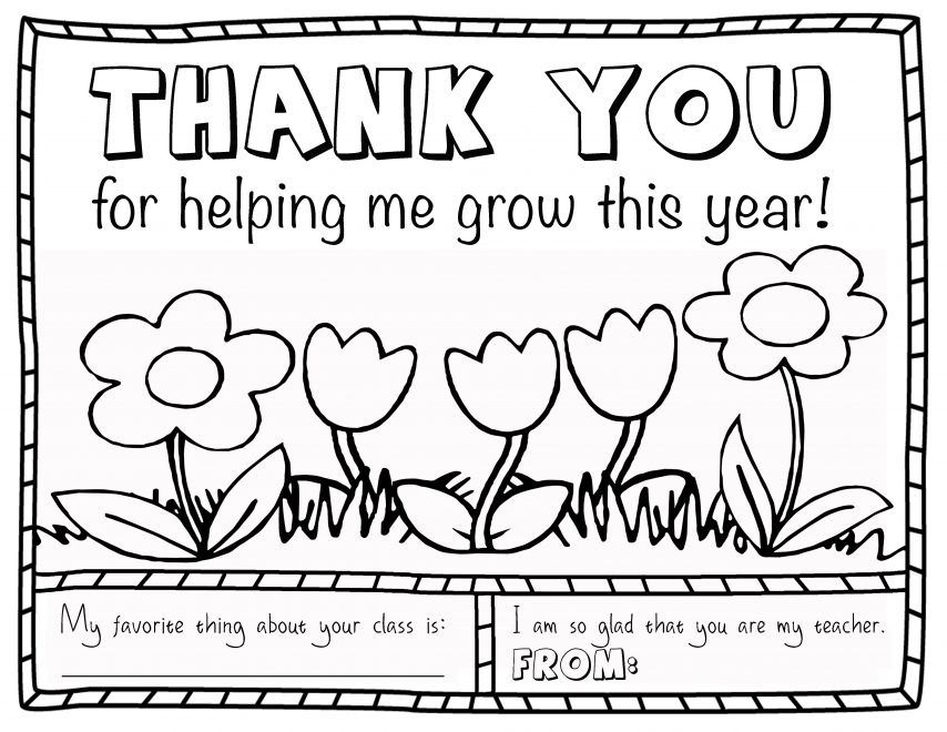 Best Free Teacher Coloring Pages
