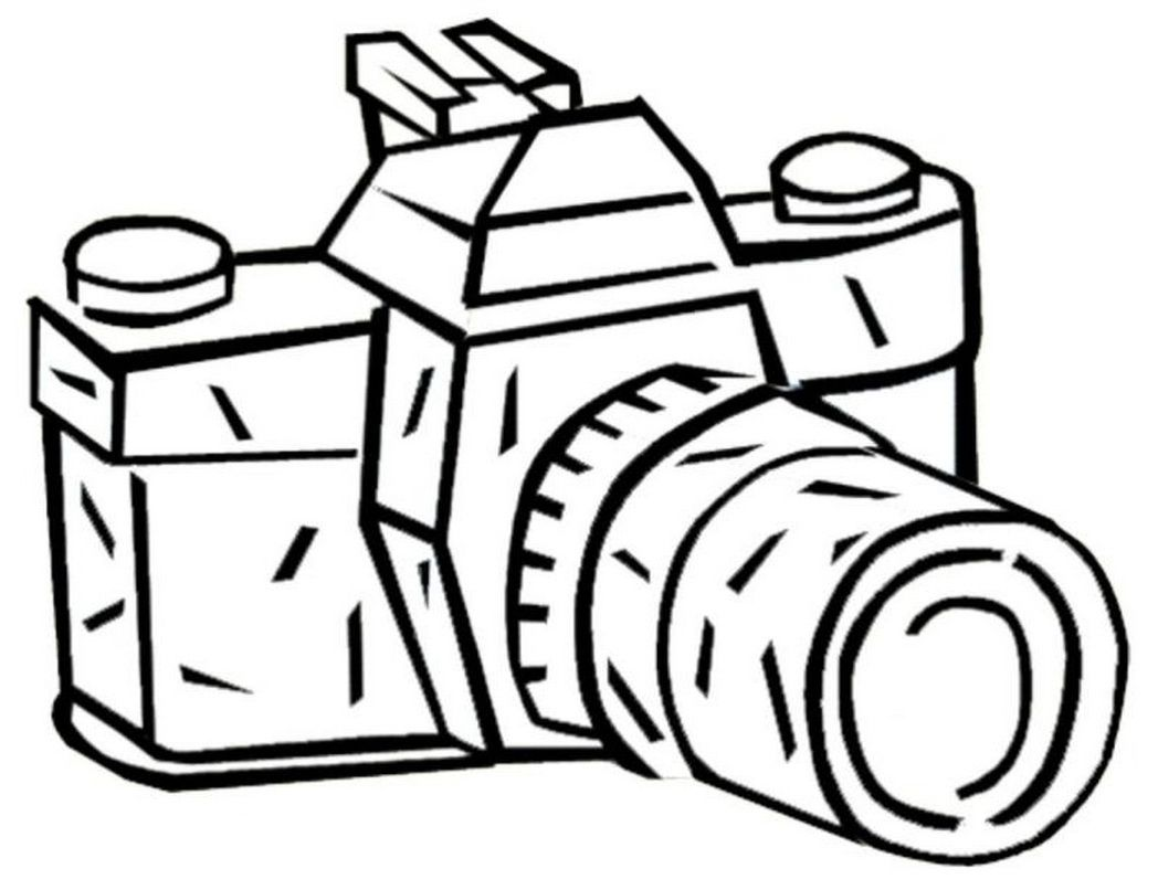 Video Camera Coloring Page Coloring Pages For Kids And For