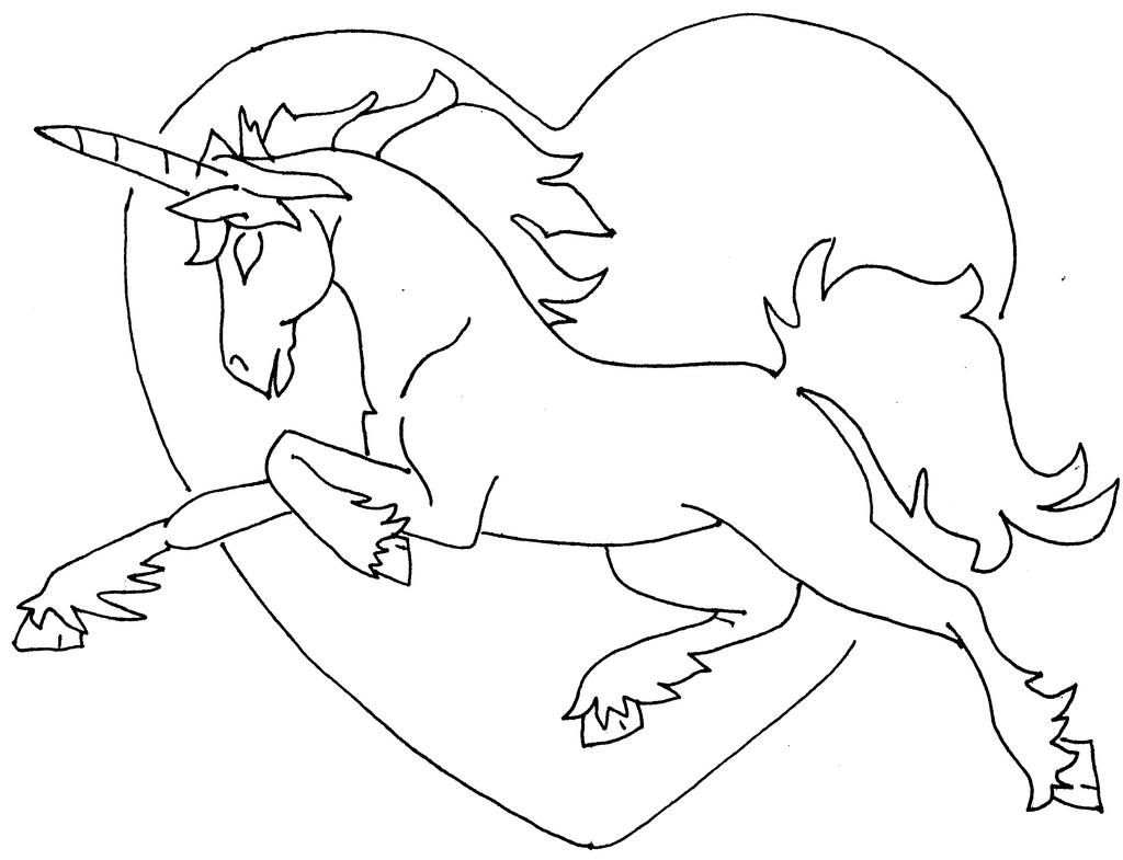 Coloring Pages Of Unicorns For S - High Quality Coloring Pages