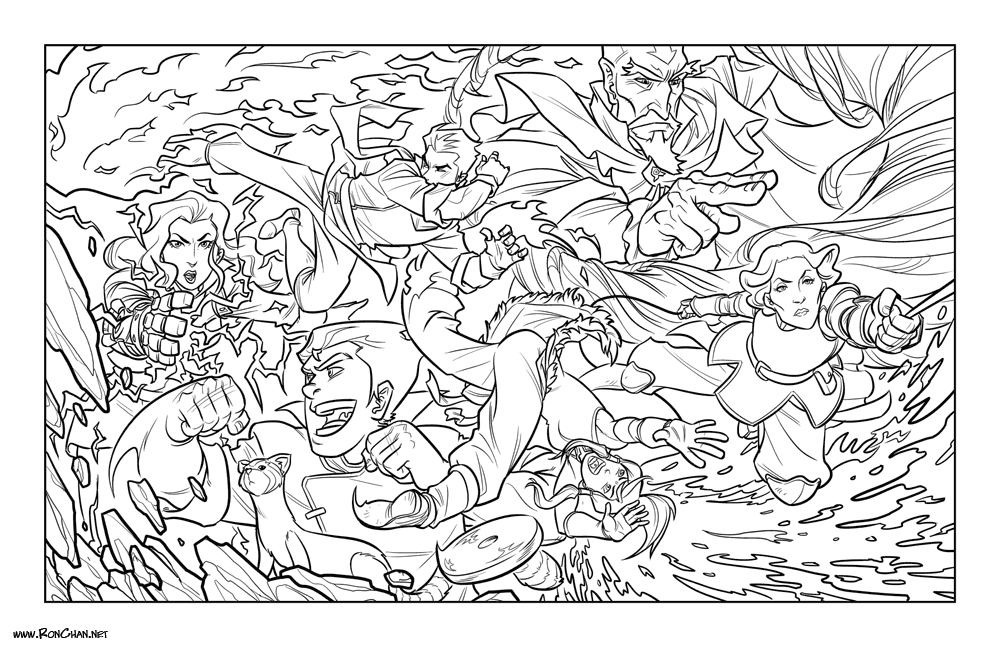 Avatar Legend Of Korra Coloring Pages - Coloring Home
