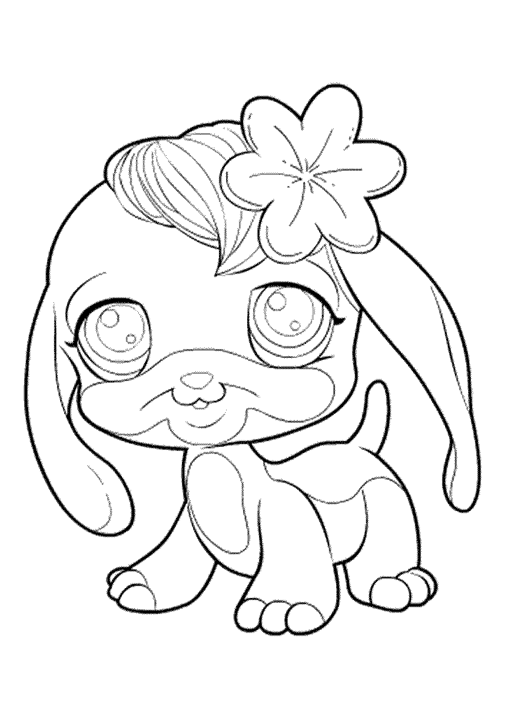 Free coloring pages littlest pet shop - Elegant Free Littlest Pet Shop Coloring Pages Printable Kids Colouring Pages With My Little Pet Shop Coloring Pages