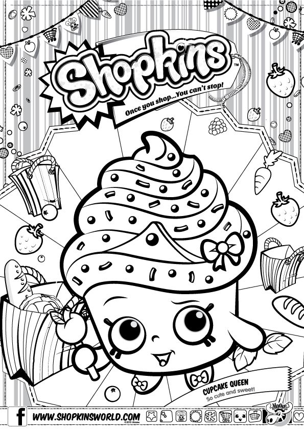 Shopkins Coloring Pages - Coloring Home