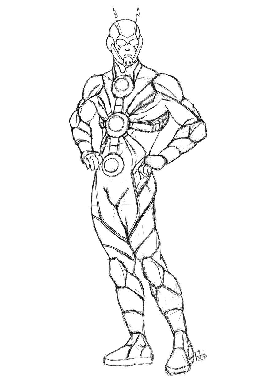 - Ant-Man Coloring Pages On Coloring-Book.info Free Printable