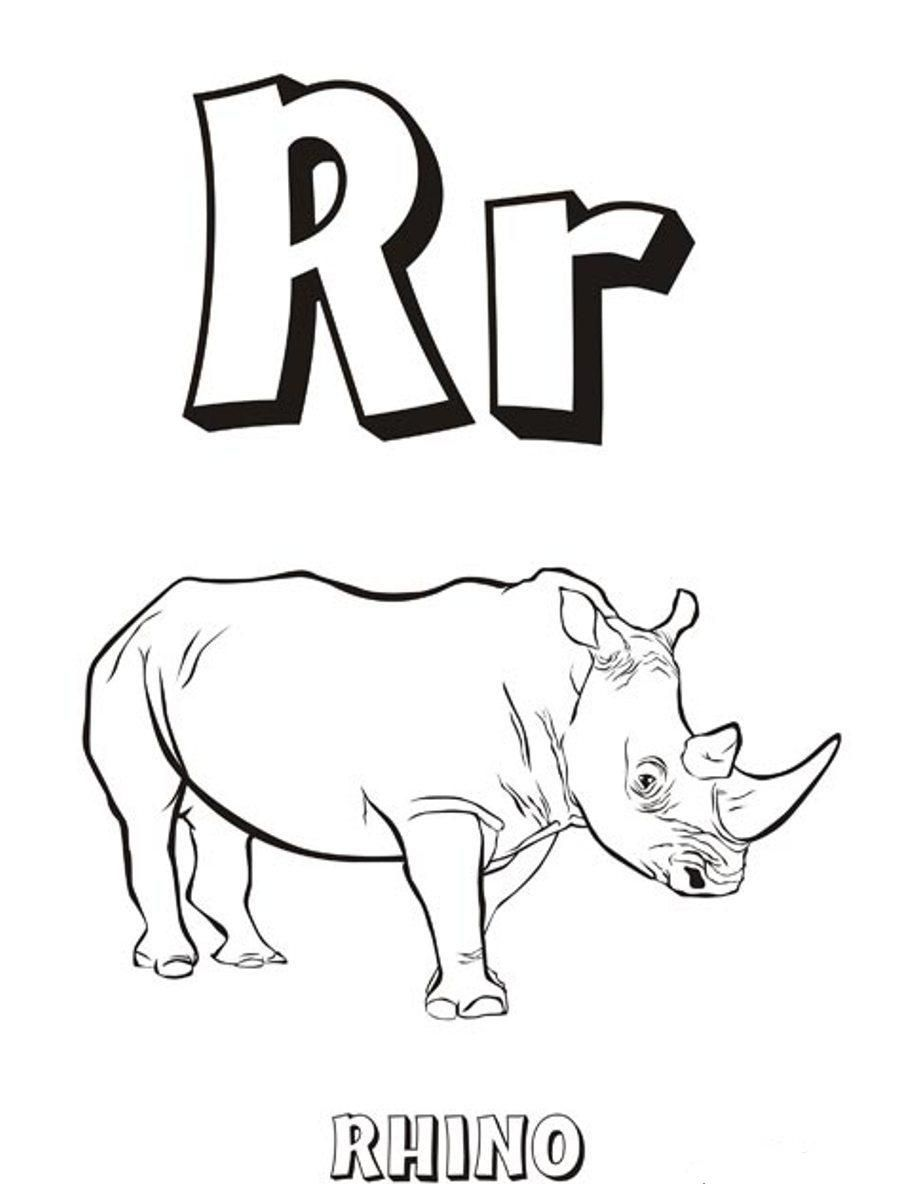 Rhinos Coloring Pages - Coloring Home