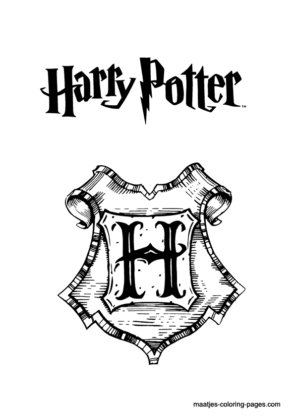 Harry Potter Colouring pages/stencils on ...
