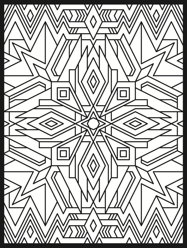 Art Deco Coloring Pages - High Quality Coloring Pages - Coloring Home