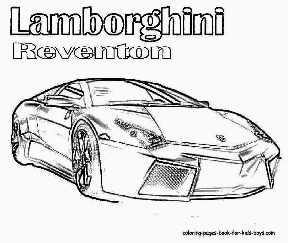 lamborghini coloring pages free coloring pages
