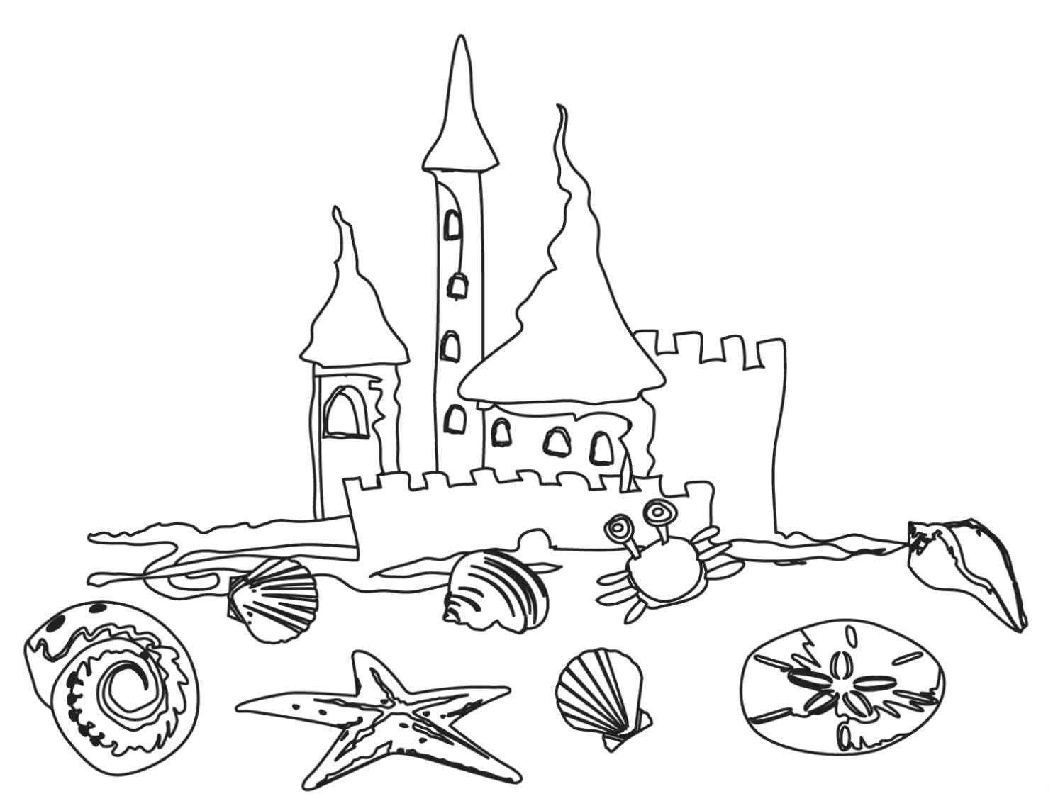 Beach Qnd Lighthouse Coloring Pages - Coloring Home