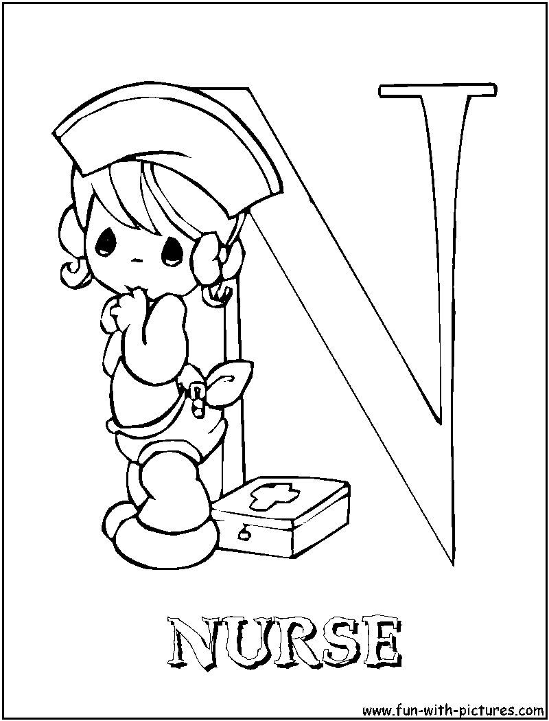 Coloring pages nurse - Best Photos Of Printable Coloring Pictures Of Nurses Printable