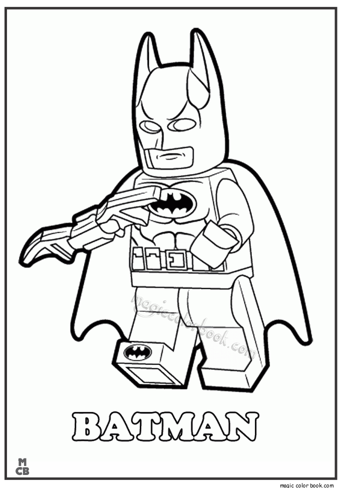 lego superman coloring pages - photo#11