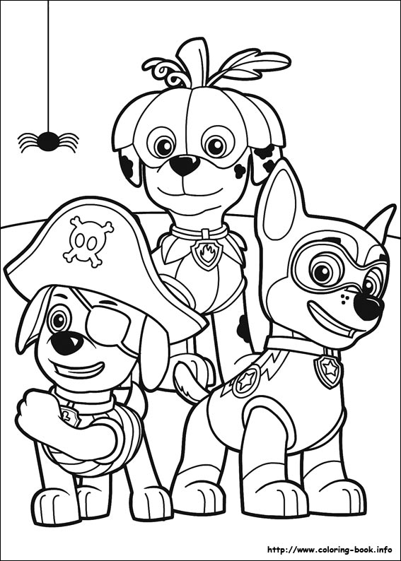 - Paw Patrol Coloring Pages - Coloring Home