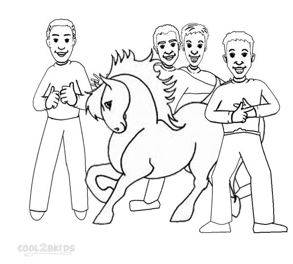 The Wiggles Coloring Page - Coloring Home